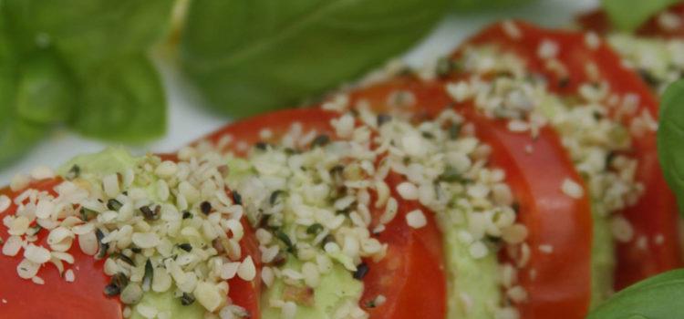 Einfache Avocado-Tomaten
